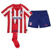 KIT INFANTIL ATLETICO DE MADRID 2020, UNIFORME 1 COMPLETO