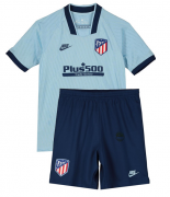 KIT INFANTIL ATLETICO DE MADRID 2020, UNIFORME 3 COMPLETO