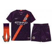 KIT INFANTIL MANCHESTER CITY 2019, UNIFORME 3 COMPLETO