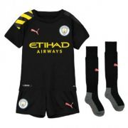 KIT INFANTIL MANCHESTER CITY 2020, UNIFORME 2 COMPLETO