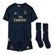 KIT INFANTIL REAL MADRID 2020, UNIFORME RESERVA COMPLETO