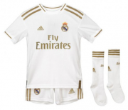 KIT INFANTIL REAL MADRID 2020, UNIFORME TITULAR COMPLETO