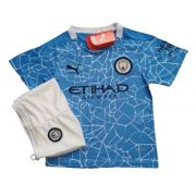 MANCHESTER CITY KIT INFANTIL 2021, UNIFORME TITULAR