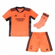 REAL MADRID KIT INFANTIL 2021, UNIFORME GOLEIRO COMPLETO