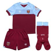WEST HAM UNITED KIT INFANTIL 2020, UNIFORME TITULAR COMPLETO