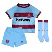 WEST HAM UNITED KIT INFANTIL 2021, UNIFORME RESERVA COMPLETO