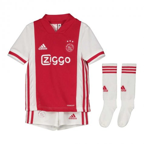 AJAX KIT INFANTIL 2021, UNIFORME TITULAR