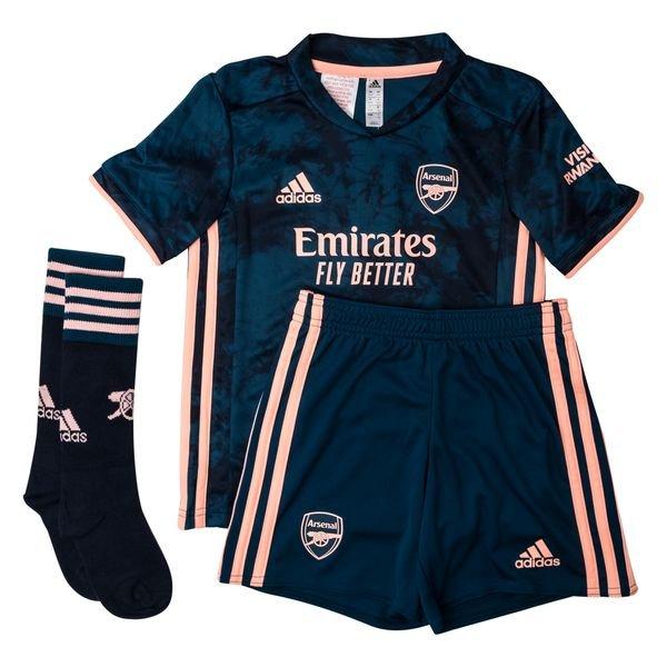 ARSENAL FC KIT INFANTIL 2021, UNIFORME 3 COMPLETO