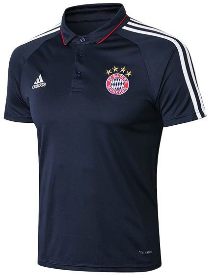 BAYERN DE MUNIQUE NOVA CAMISA POLO AZUL 2019
