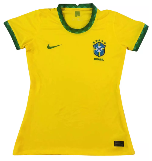 BRASIL CAMISA FEMININA 2021, UNIFORME TITULAR, SELEÇÃO BRASILEIRA