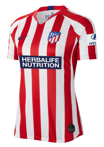 Camisa Atletico De Madrid Feminina 2020 Uniforme Titular