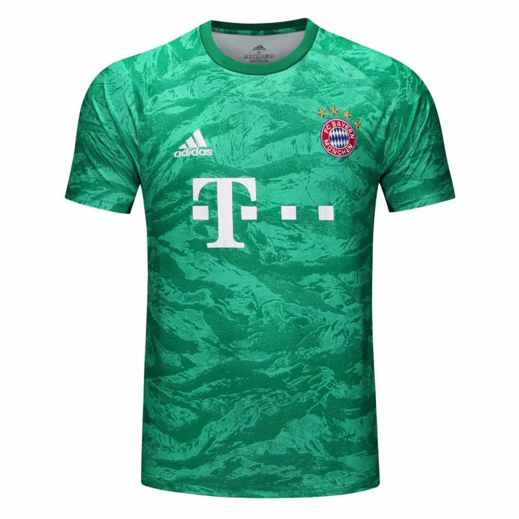 CAMISA BAYERN DE MUNIQUE 2020 UNIFORME GOLEIRO