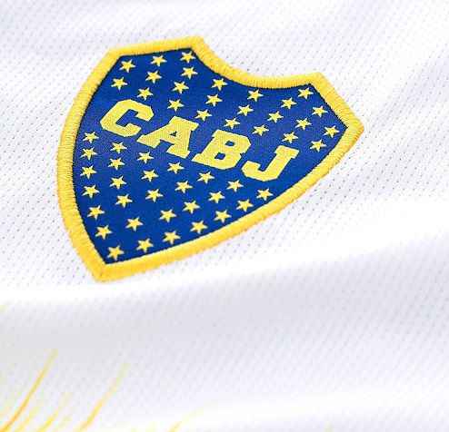 CAMISA BOCA JUNIORS DA ARGENTINA, NOVA CAMISA 2 RESERVA BRANCA 2019, AFA