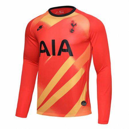Camisa Manga Longa Tottenham Hotspur 2020 Uniforme Goleiro