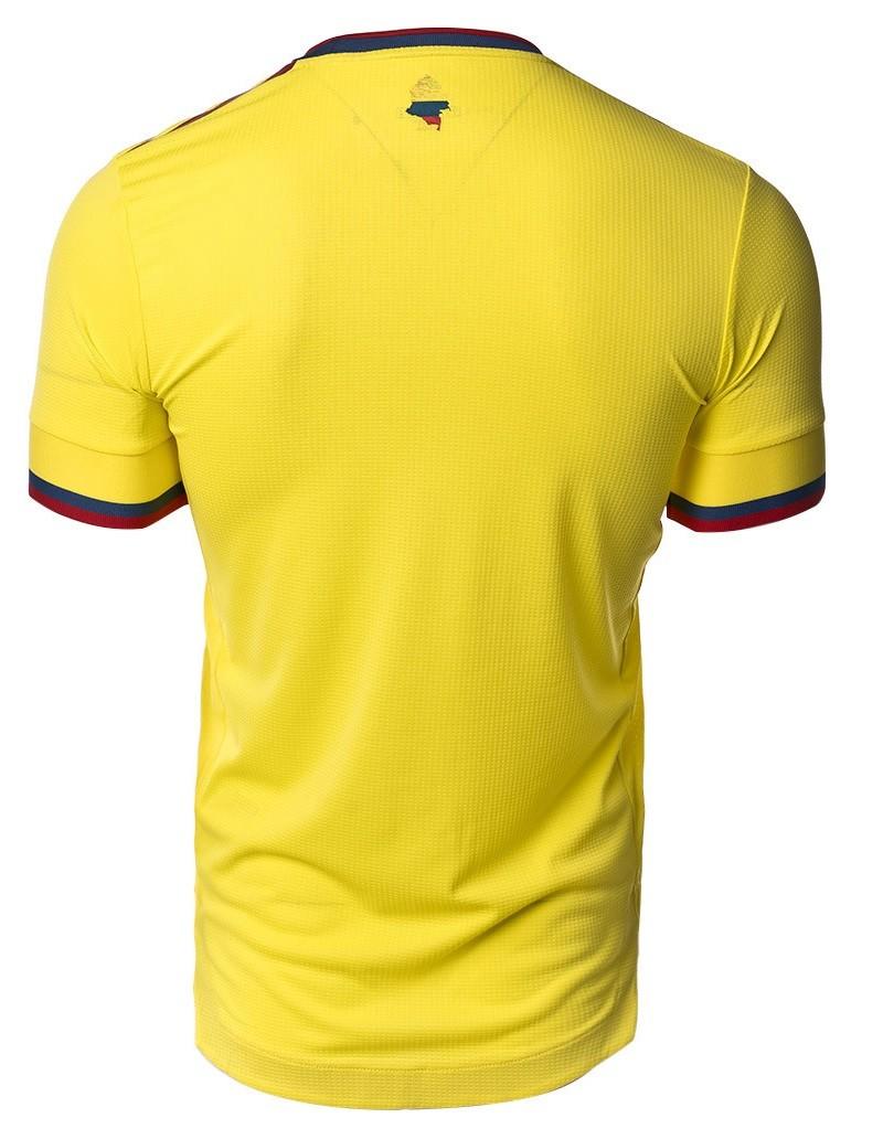 COLÔMBIA CAMISA MASCULINA 2021, UNIFORME TITULAR