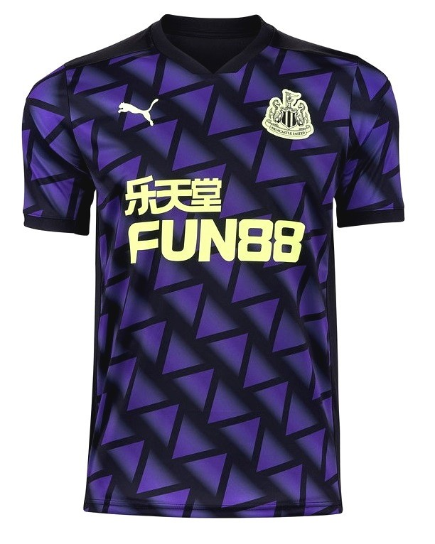 NEWCASTLE UNITED CAMISA MASCULINA 2021, UNIFORME 3