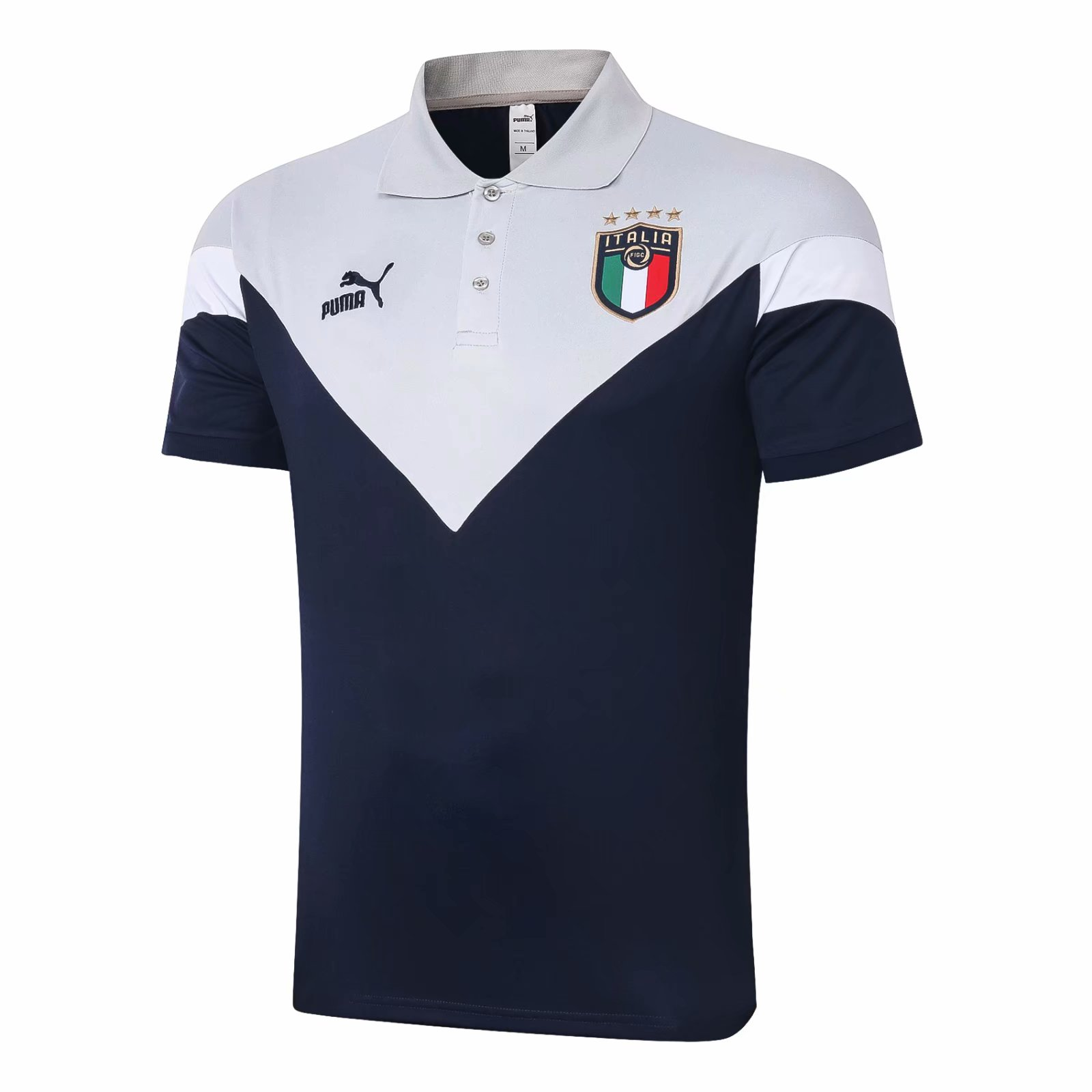 ITÁLIA CAMISA POLO 2021