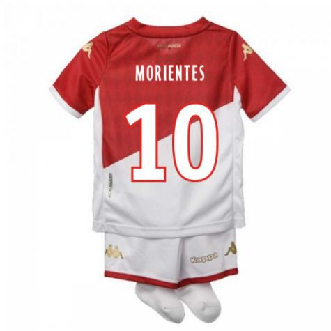 KIT INFANTIL AS MONACO 2020, UNIFORME 1 TITULAR, COMPLETO