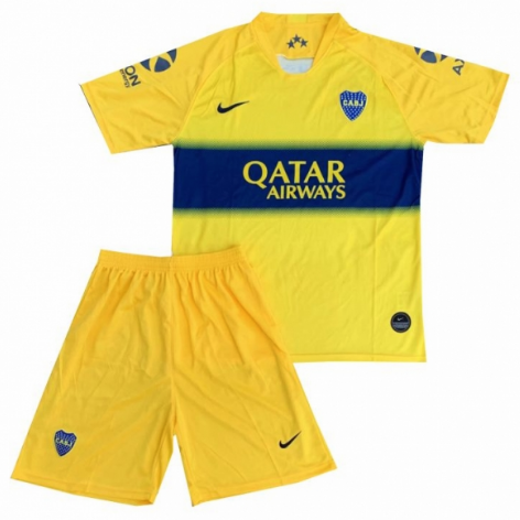 KIT INFANTIL BOCA JUNIORS 2020, UNIFORME 2 COMPLETO