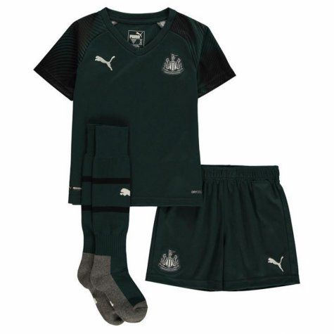 KIT INFANTIL NEWCASTLE UNITED 2020, UNIFORME 3 COMPLETO
