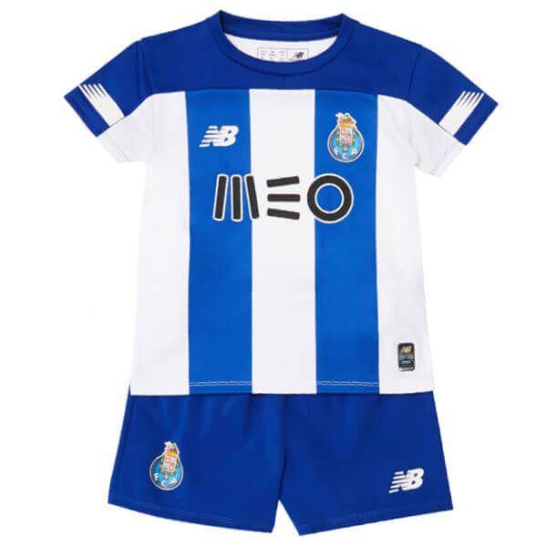 KIT INFANTIL PORTO FC 2020 TITULAR, UNIFORME COMPLETO