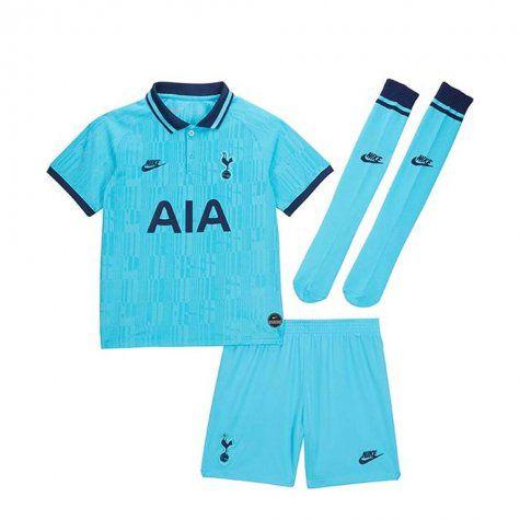 Kit Infantil Tottenham Hotspur 2020 Reserva Uniforme 3 Completo