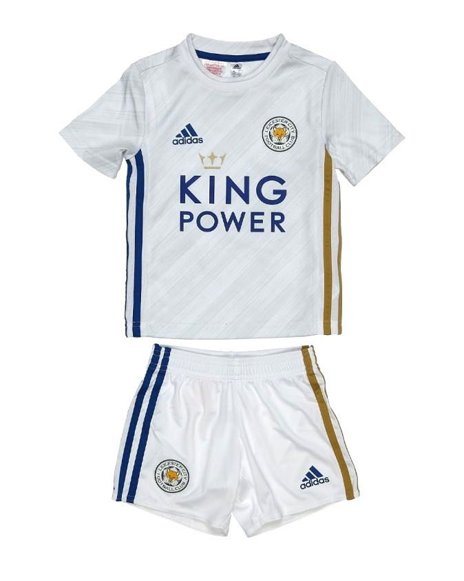 LEICESTER CITY KIT INFANTIL 2021, UNIFORME RESERVA