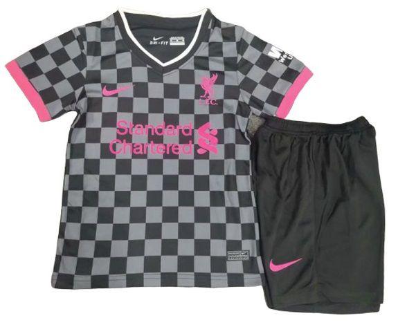 Liverpool Kit Infantil 2021 Uniforme 3