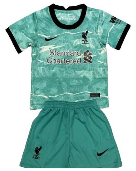 Liverpool Fc Kit Infantil 2021 Uniforme De Goleiro