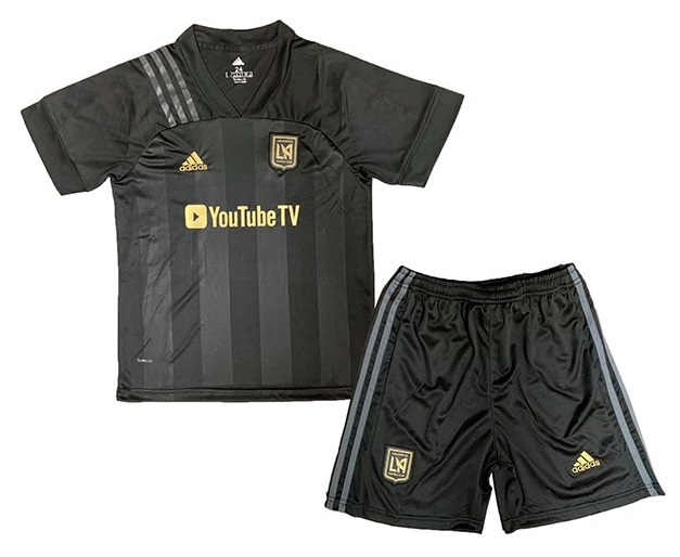 LOS ANGELES FC KIT INFANTIL 2021, UNIFORME TITULAR