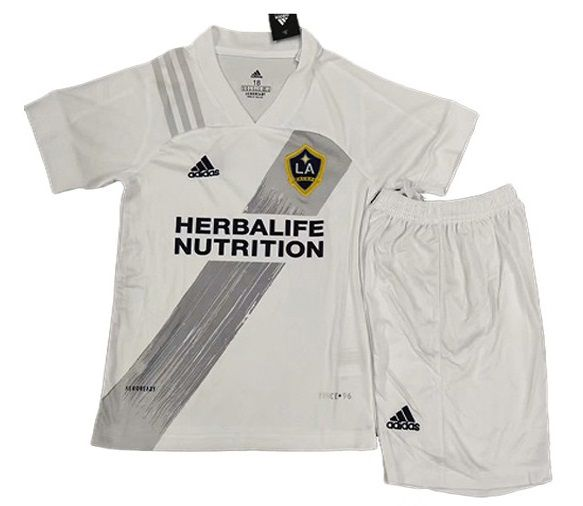 LOS ANGELES GALAXY KIT INFANTIL 2021, UNIFORME TITULAR
