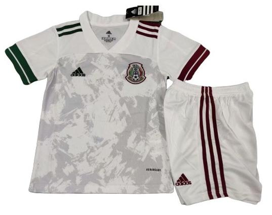 MÉXICO KIT INFANTIL 2020, UNIFORME RESERVA
