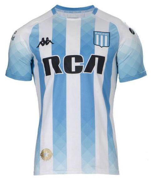 RACING CLUB CAMISA 2020, UNIFORME TITULAR