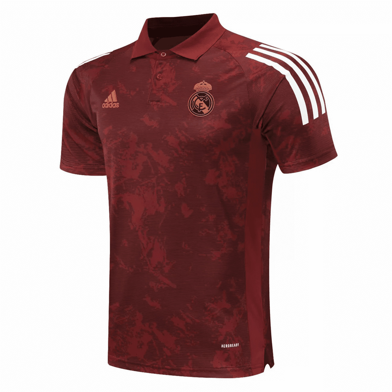 REAL MADRID CAMISA POLO 2021 CHAMPIONS LEAGUE