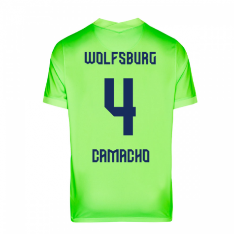 WOLFSBURG CAMISA MASCULINA 2021, UNIFORME TITULAR