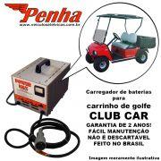 Carregador de baterias para carrinho de golfe Club Car