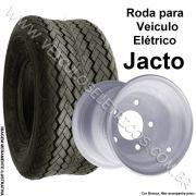 Roda Aro 8 X 7  5 furos para carrinho elétrico Jacto