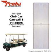 Toldo Club Car Carryall 6 pessoas Branco