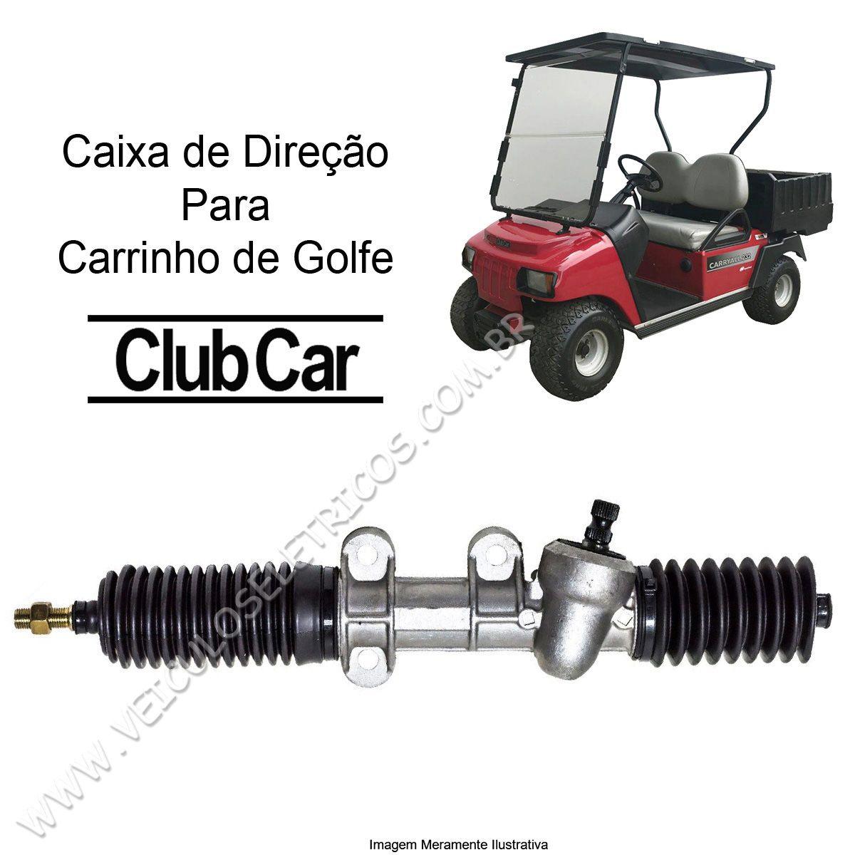 Caixa de Direção para Carrinho de Golfe Club Car Carryall