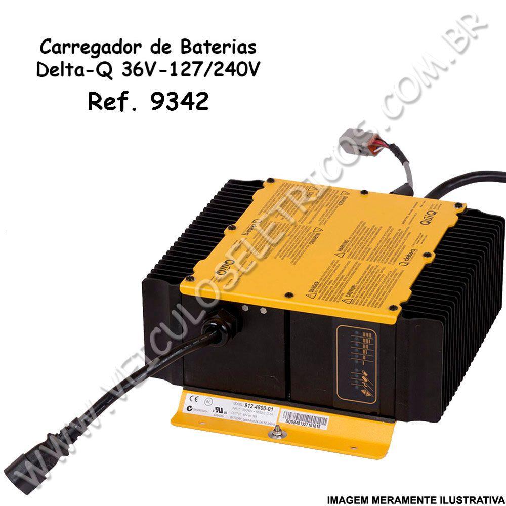 Carregador de Baterias Delta-Q 36 Volts