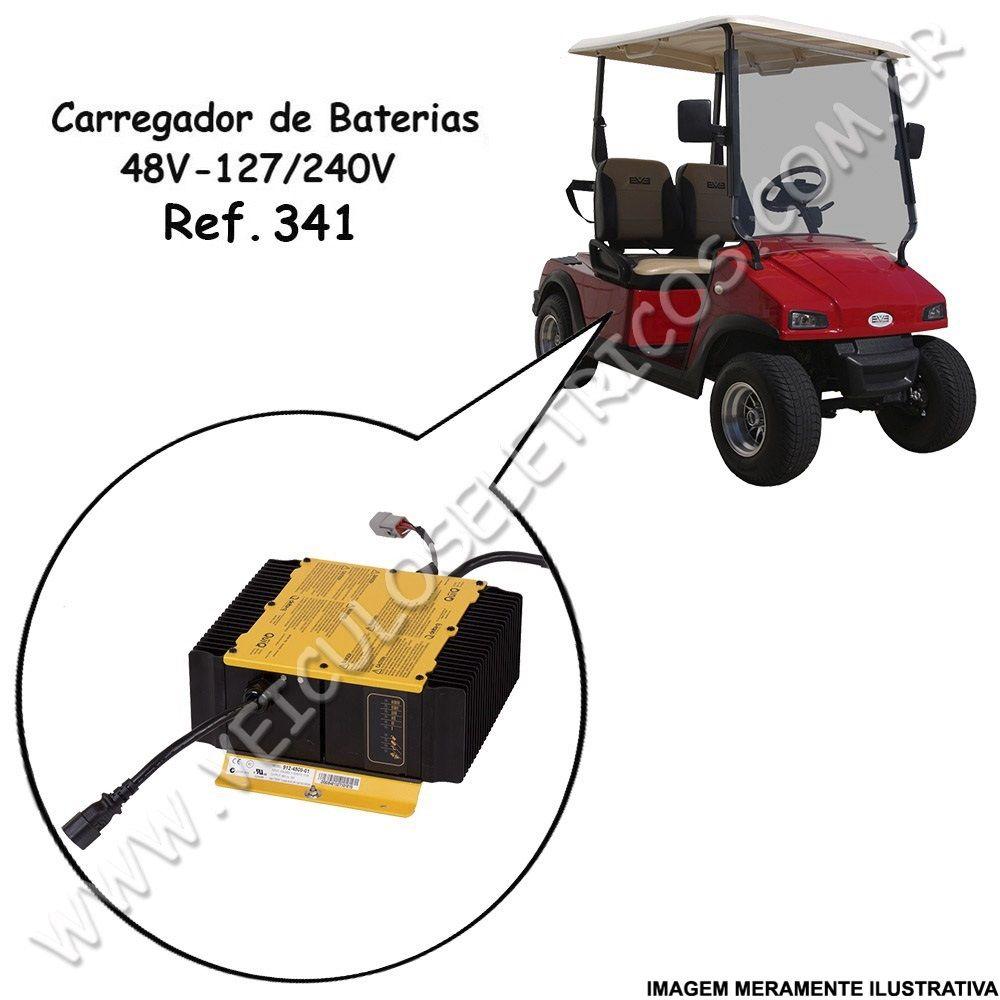 Carregador de Baterias Delta-Q 48 Volts