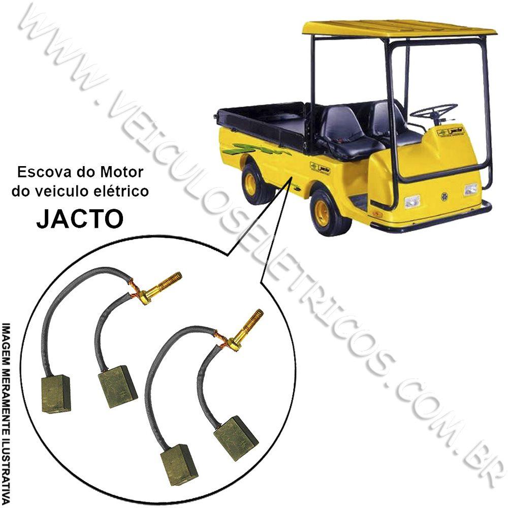 Escova do motor do veiculo Jacto