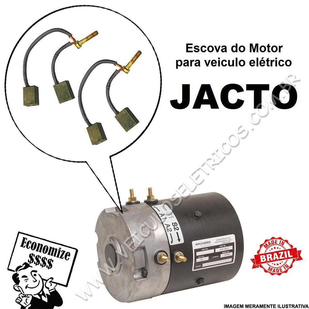 Escova do motor para veiculo elétrico Jacto