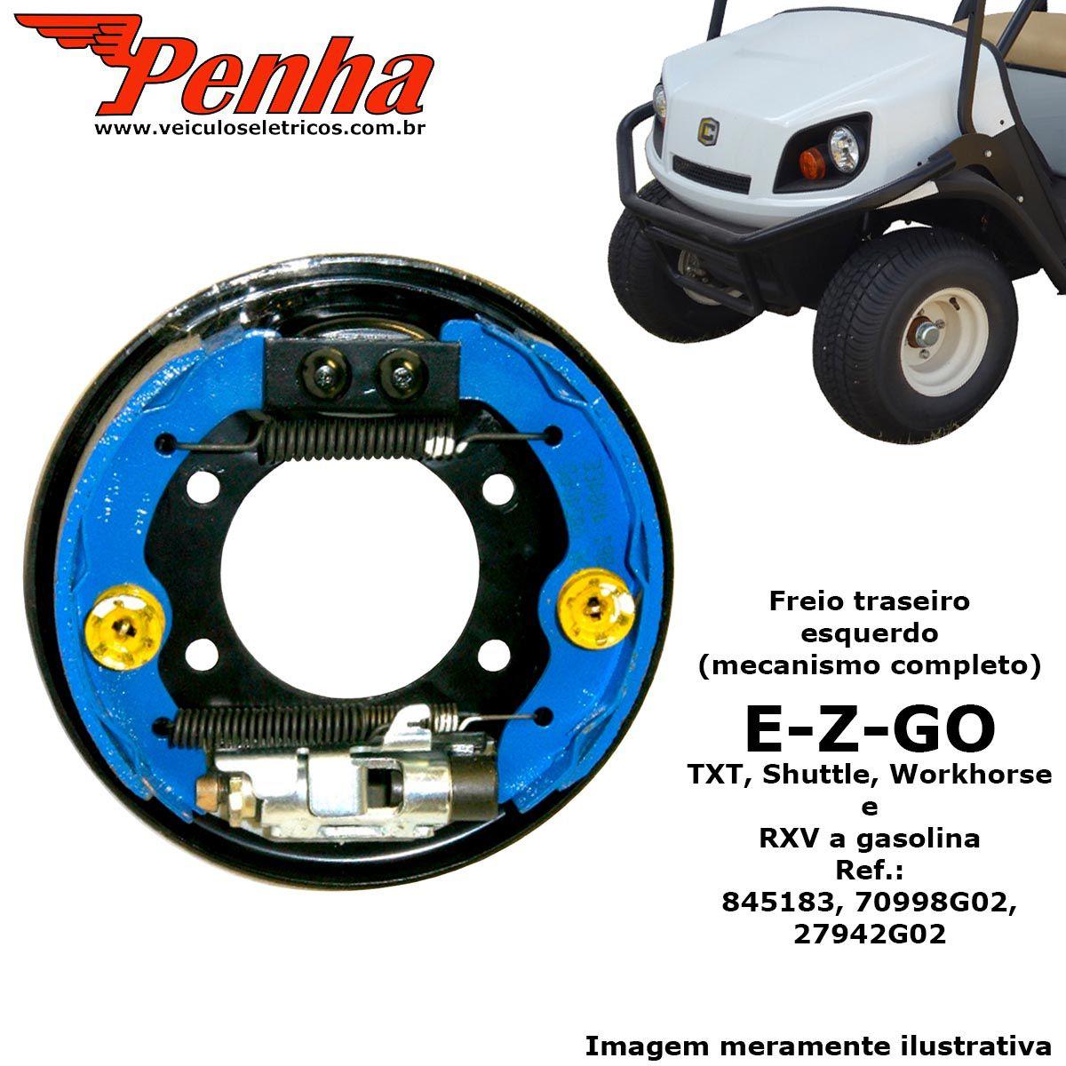 Espelho de freio para carrinho de golfe EZ-GO (Lado Esquerdo)