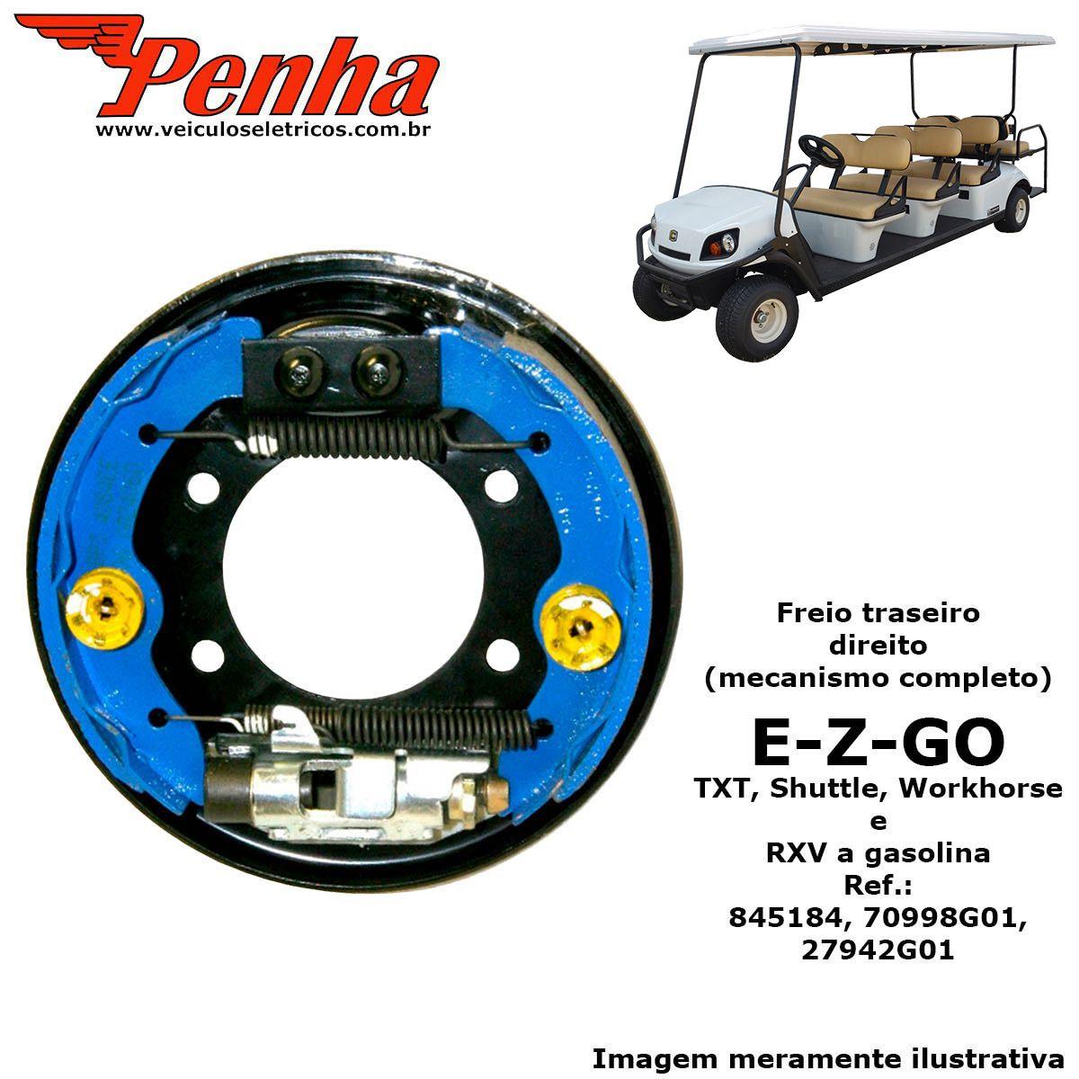 Espelho de freio para carrinho de golfe EZ-GO (Lado Direito)