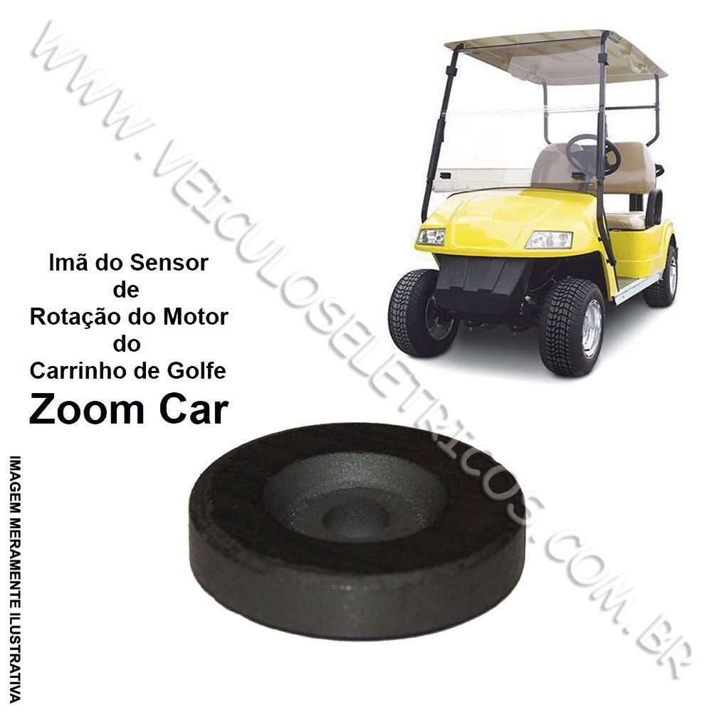 Imã do sensor de rotação do motor Zoom Car