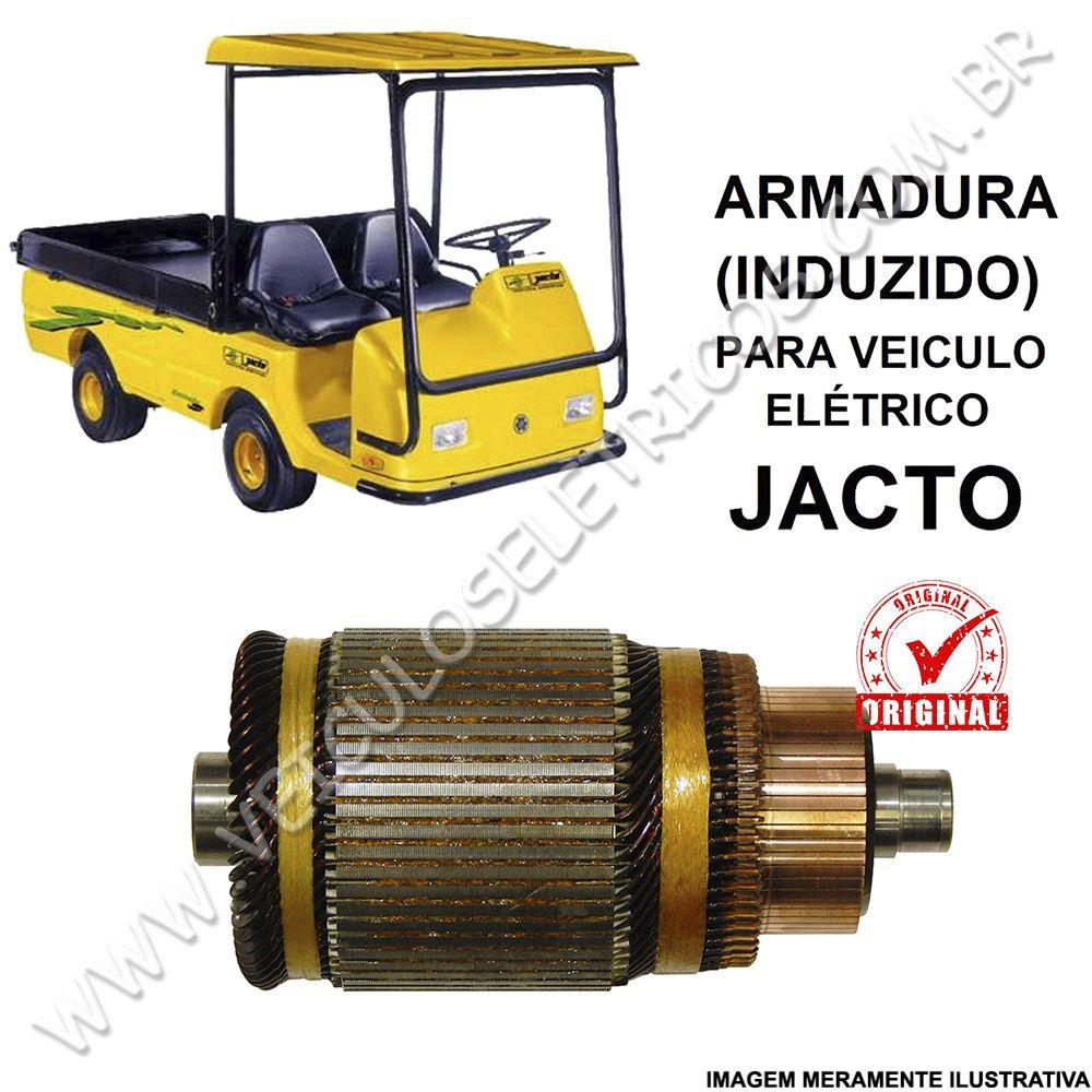 Induzido do Motor do Veiculo Elétrico Jacto