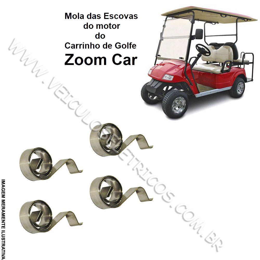 Mola das Escovas Motor do Carrinho de Golfe Zoom Car