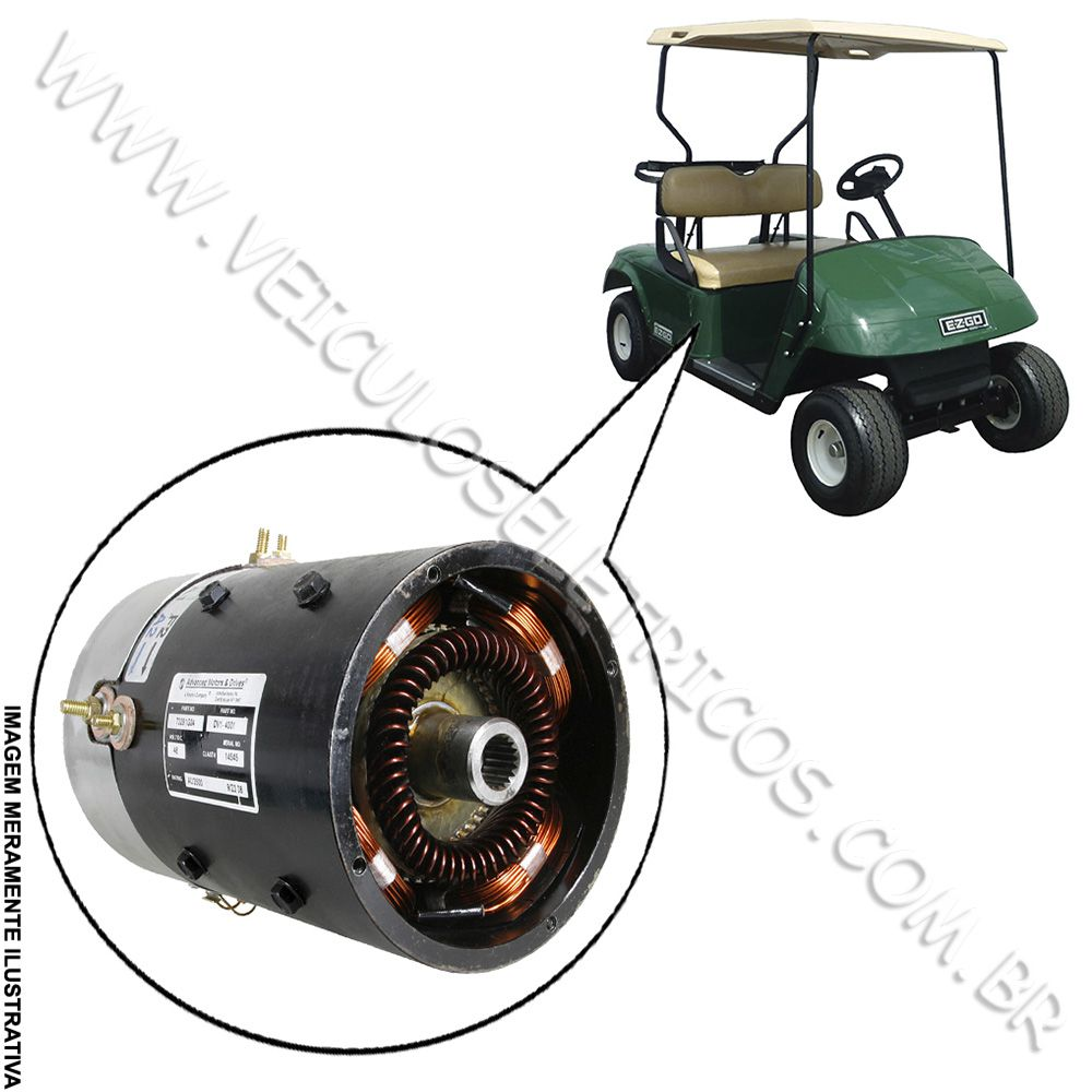 Motor para carrinho de golfe EZ-GO