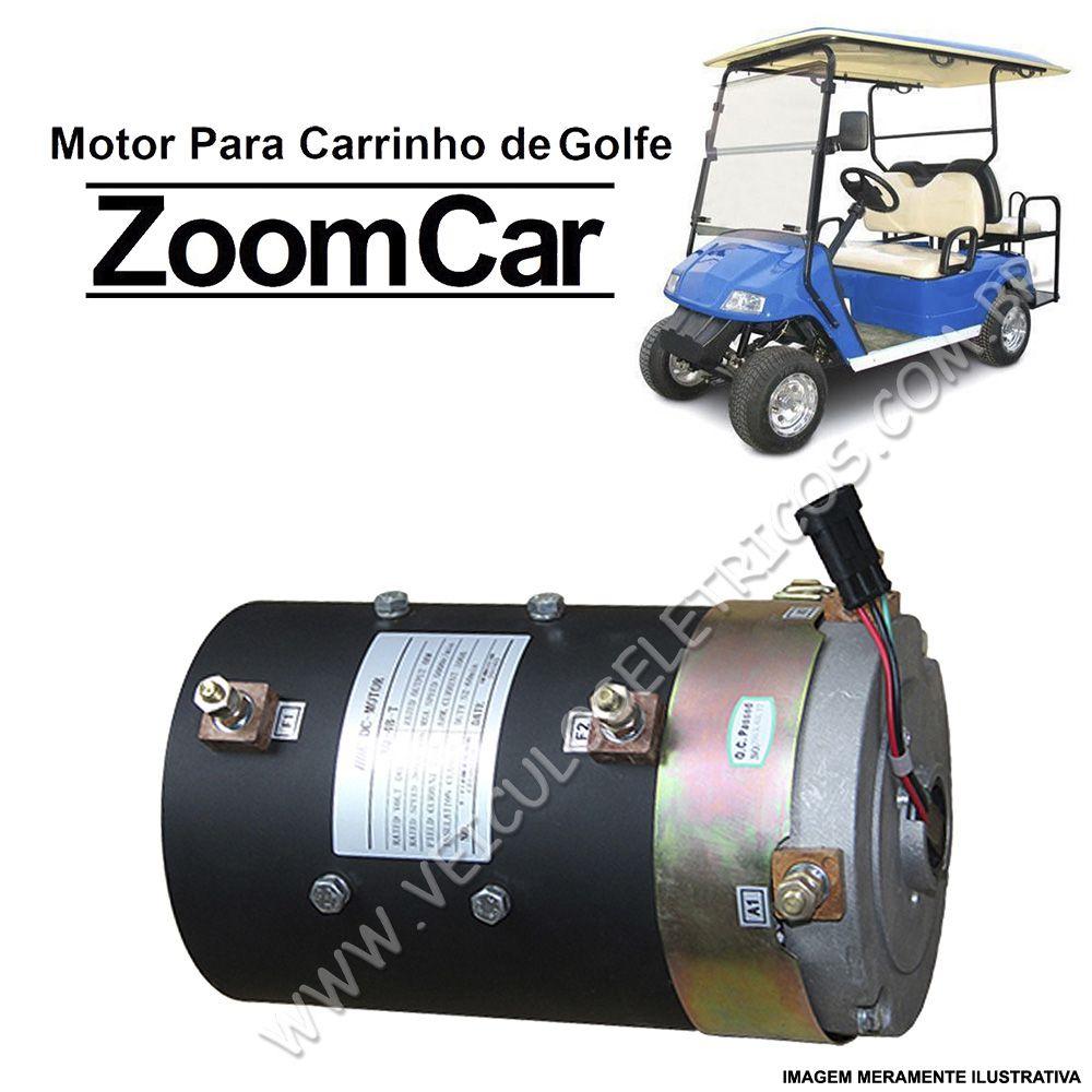 Motor para Carrinho de Golfe Zoom Car
